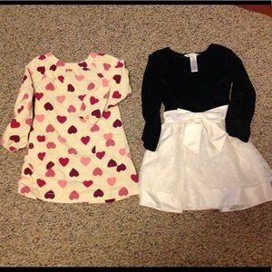 2 little girl's dresses .. size 3T .. Old Navy